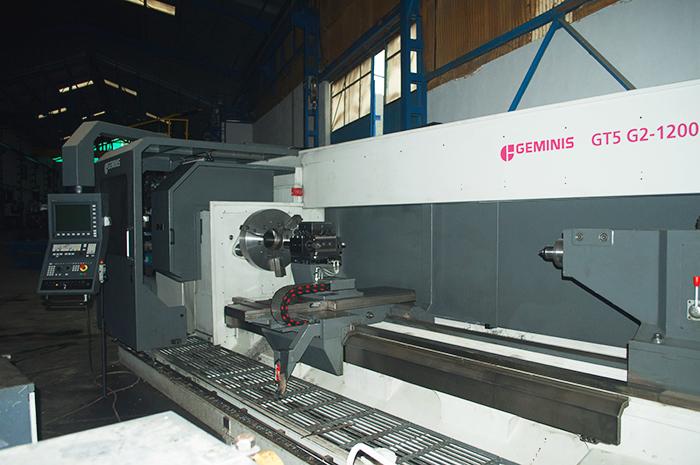 Torno CNC Geminis GTS-G2 1200 es GT5-G2 1200