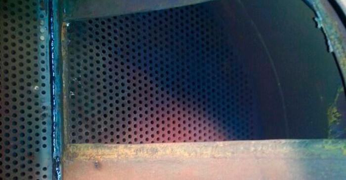 Reparación membrana calentador