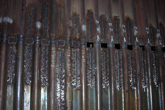 Sustitución de tubos caldera