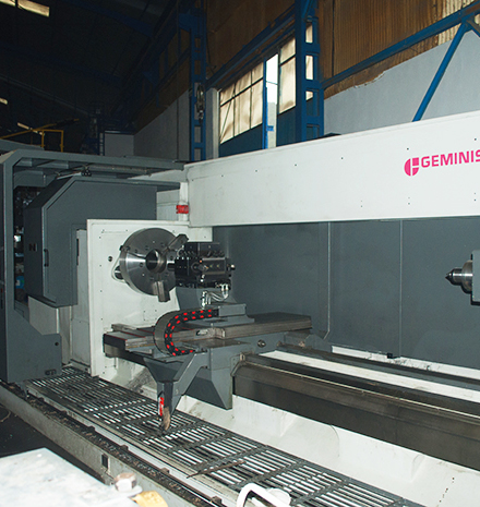 CNC Lathe Gémenis GTS-G2 1200 es  GT5-G2 1200