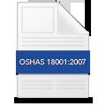 Certificado OSHAS 18001:2007