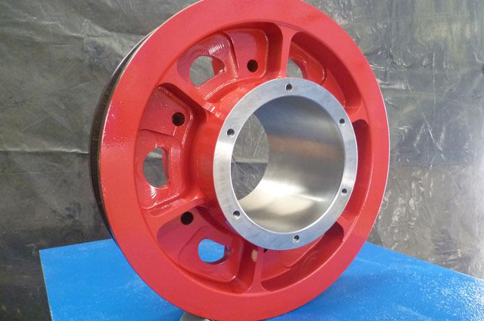 Stacker wheel